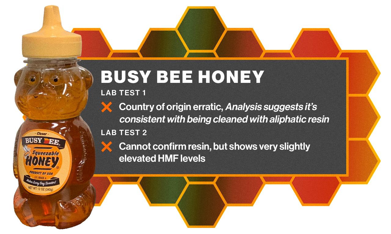 Busy bee honey