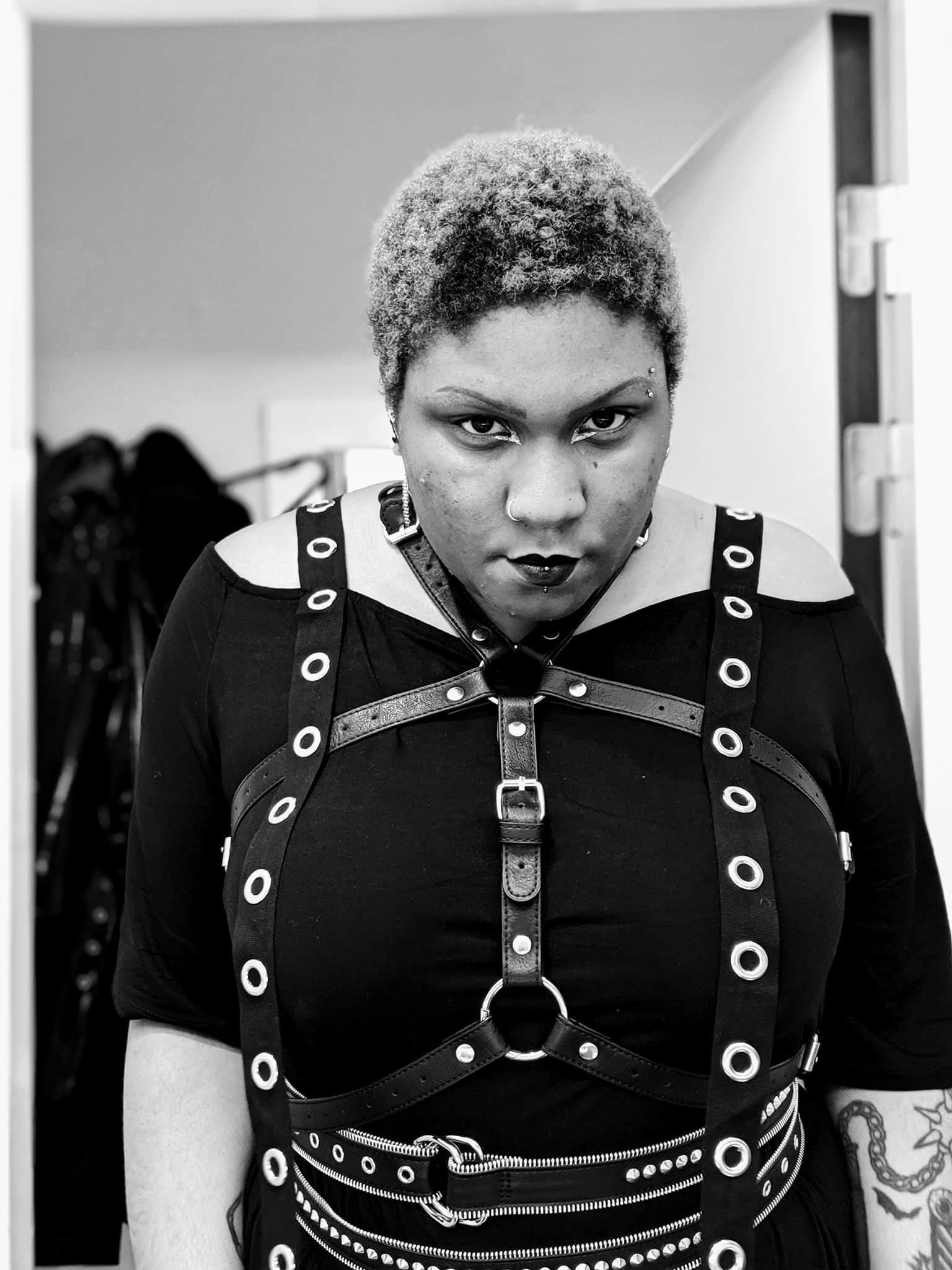 Nneoma Ukandu black afro goth