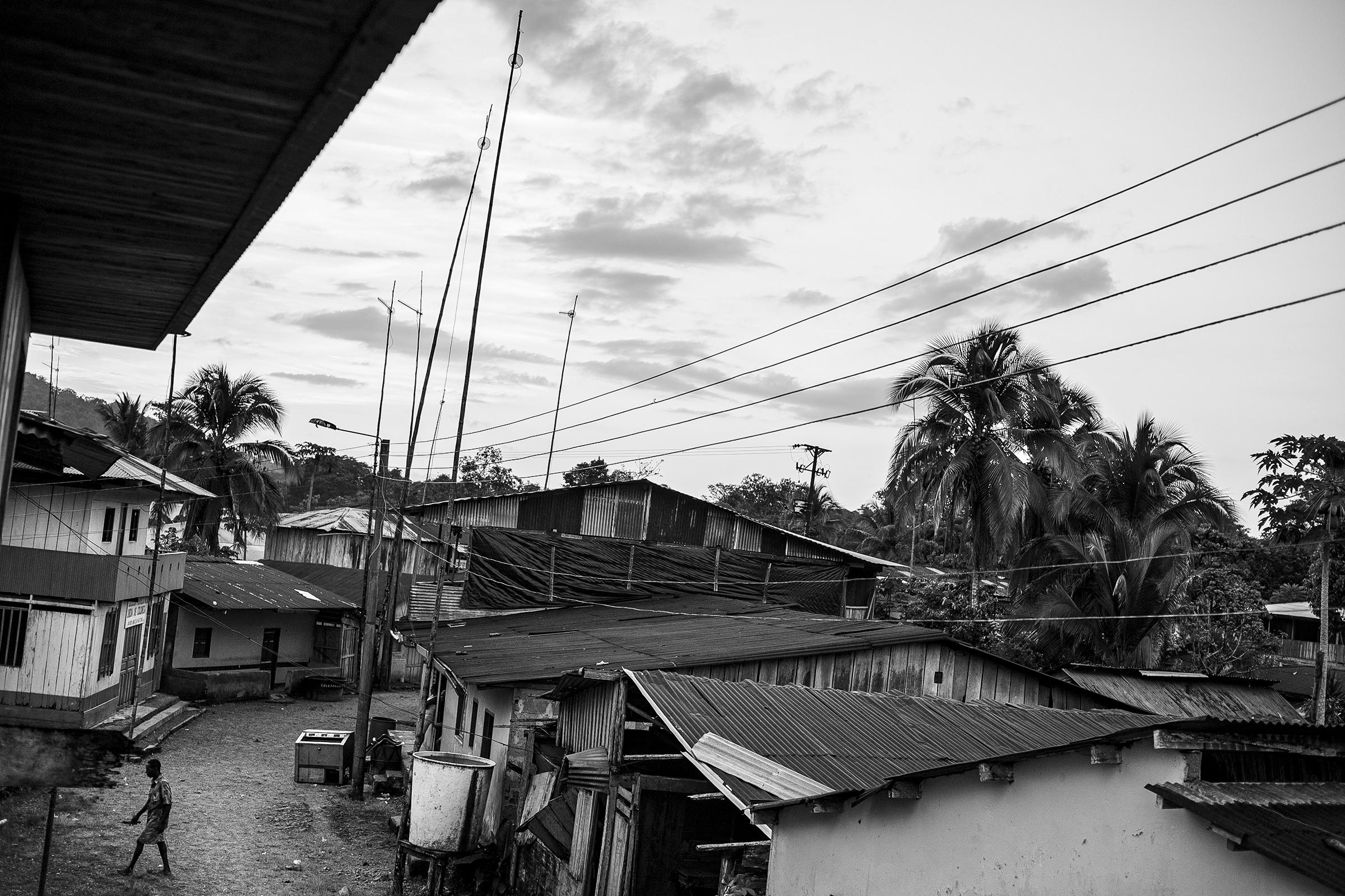 Pueblo Pacífico colombiano - conflicto armado
