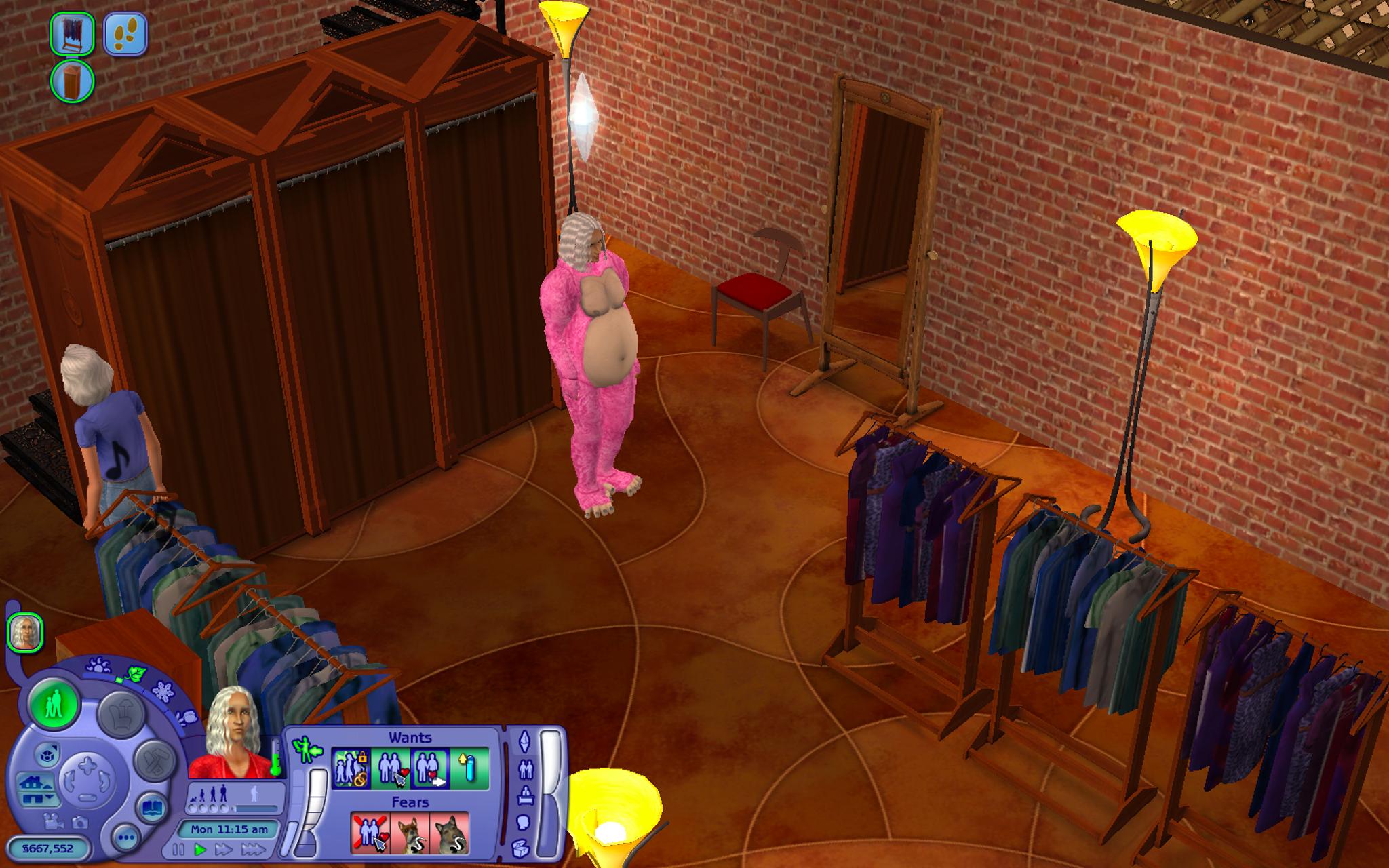 sims fancy dress