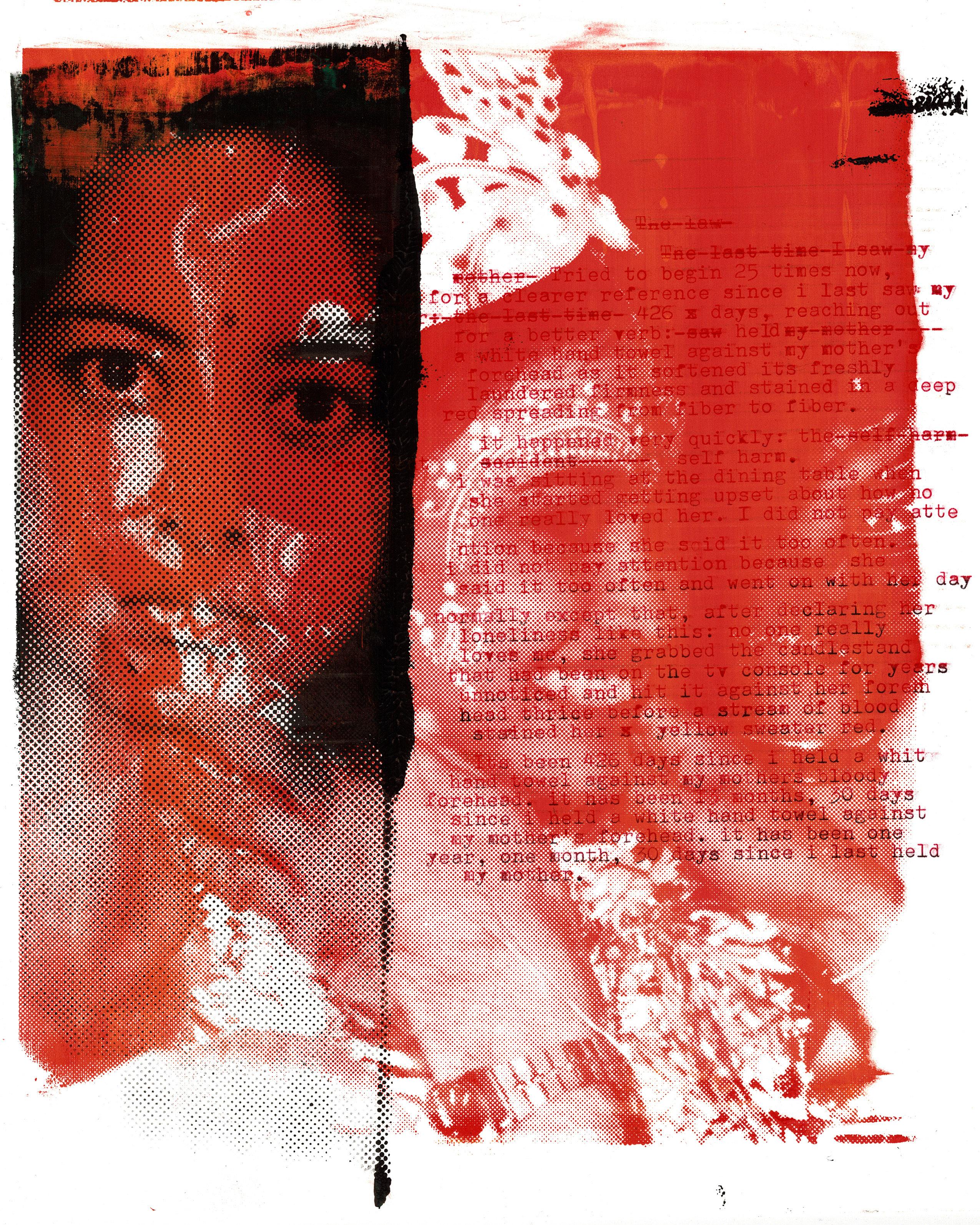 Cheryl Mukherji The Last Time artwork