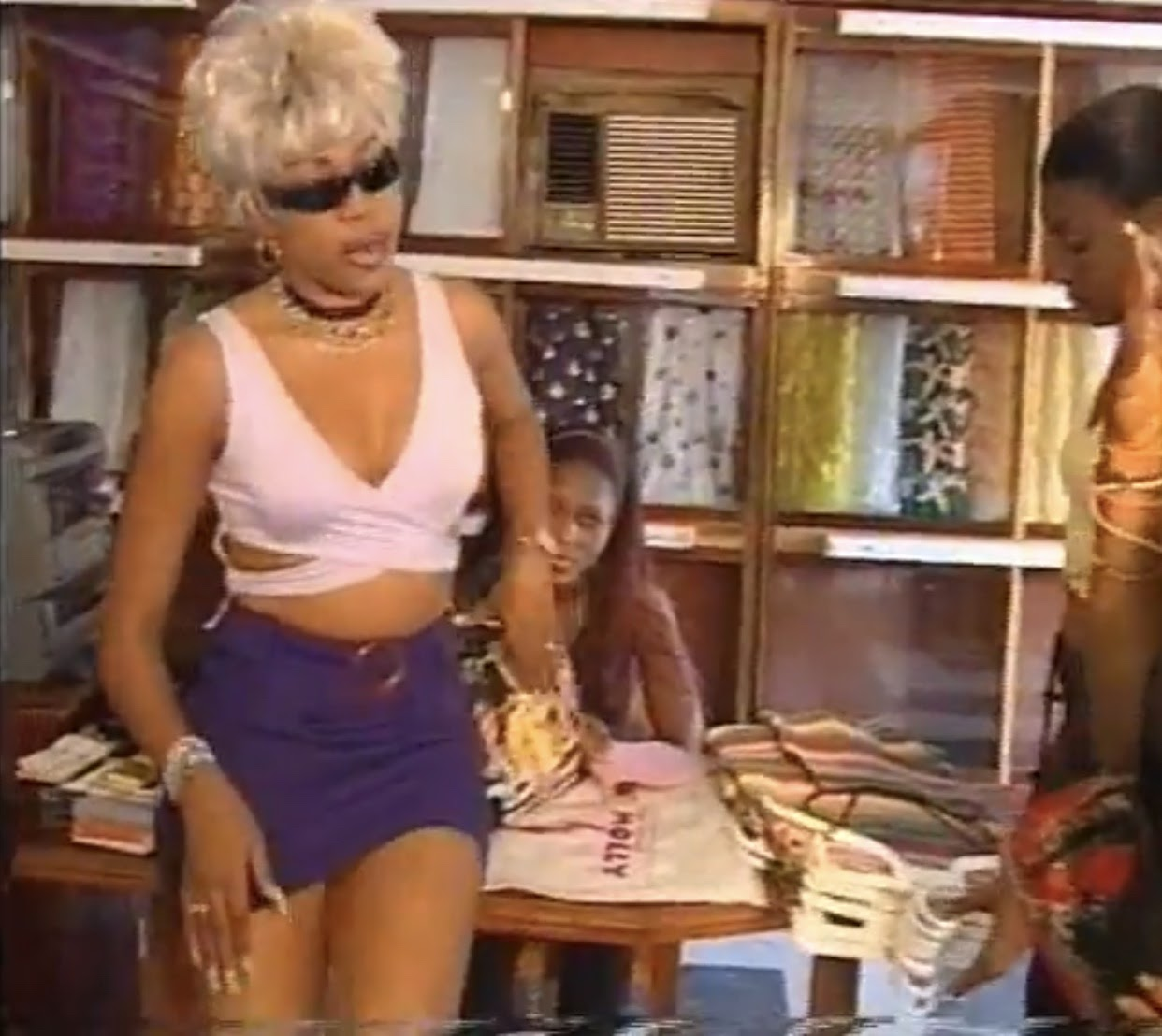 Regina Askia in The President's Daughter, 2000