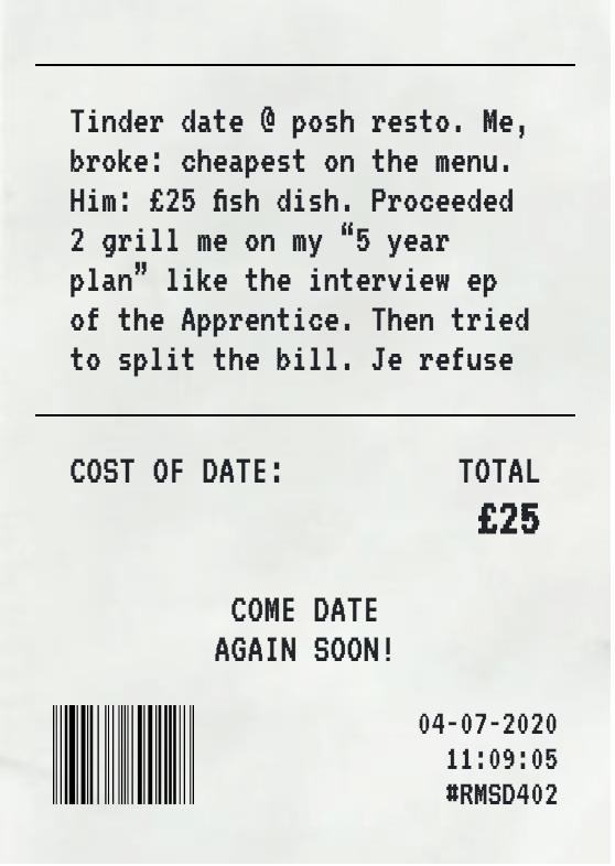 refund my shit date screenshot