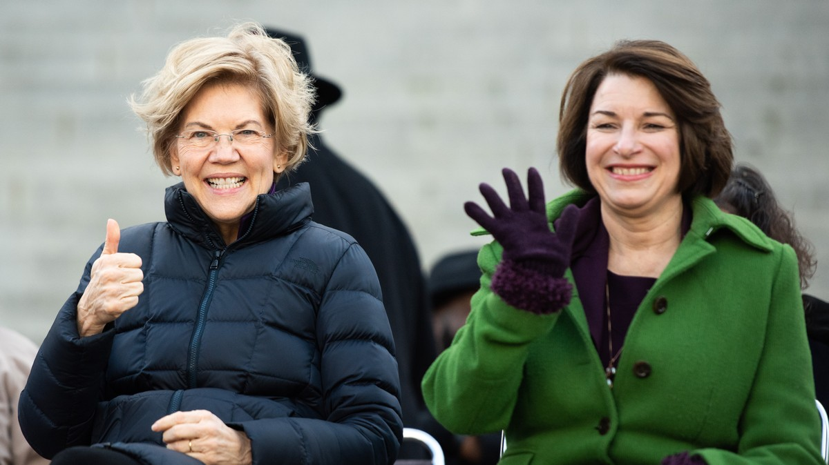 Warren's Klobuchar Boost Is Only Feminist If You're Completely Cynical