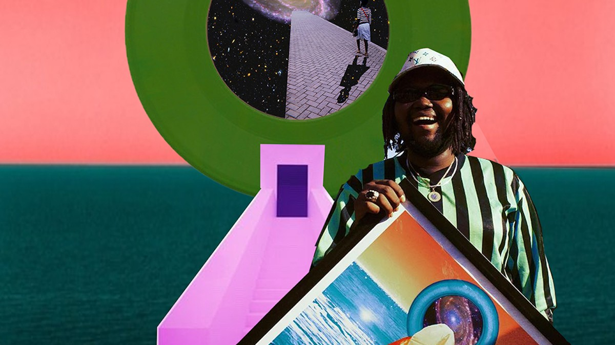 This Kenyan artist makes otherworldly afrofuturist collages