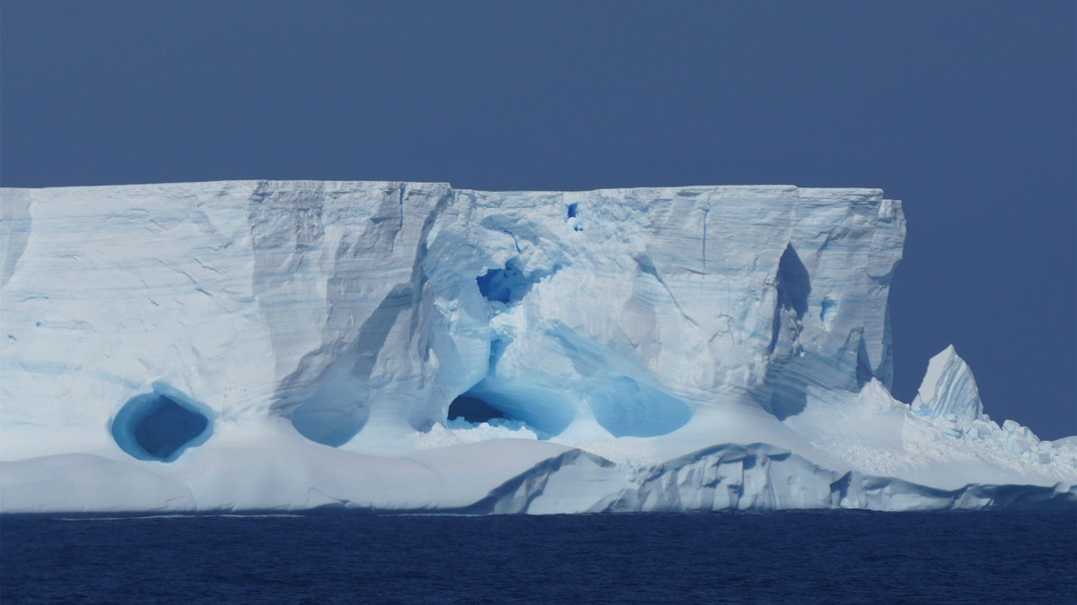 Good Day. It's 69 Degrees in the Antarctic.