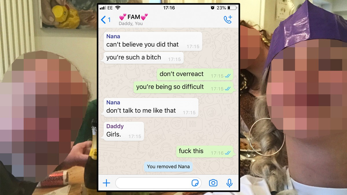 The Highs and Lows of the Family WhatsApp