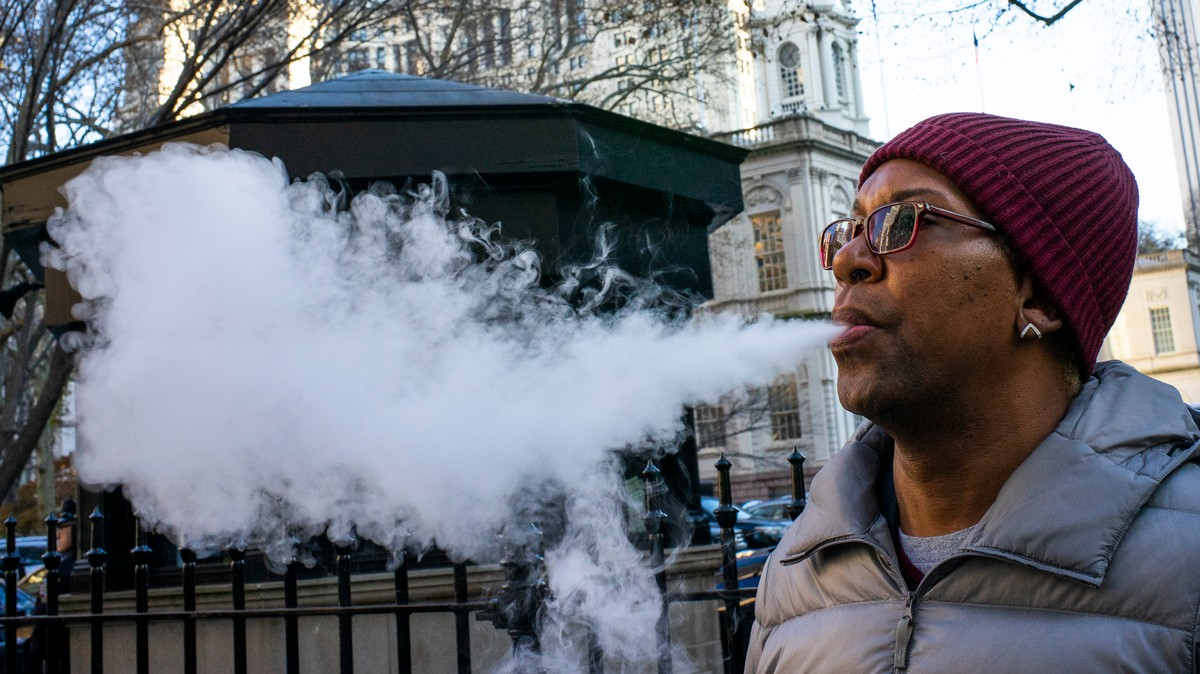 A Major Study That Fueled National Vape Panic Has Been Retracted
