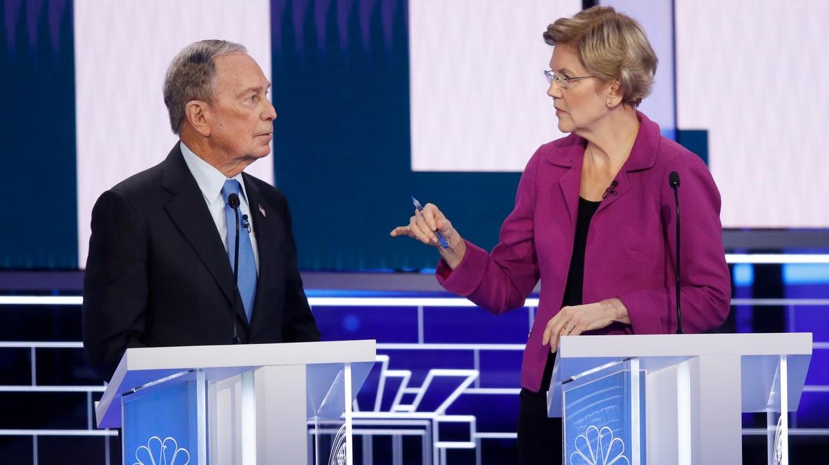 Elizabeth Warren Just Went Beast Mode on the Debate Stage