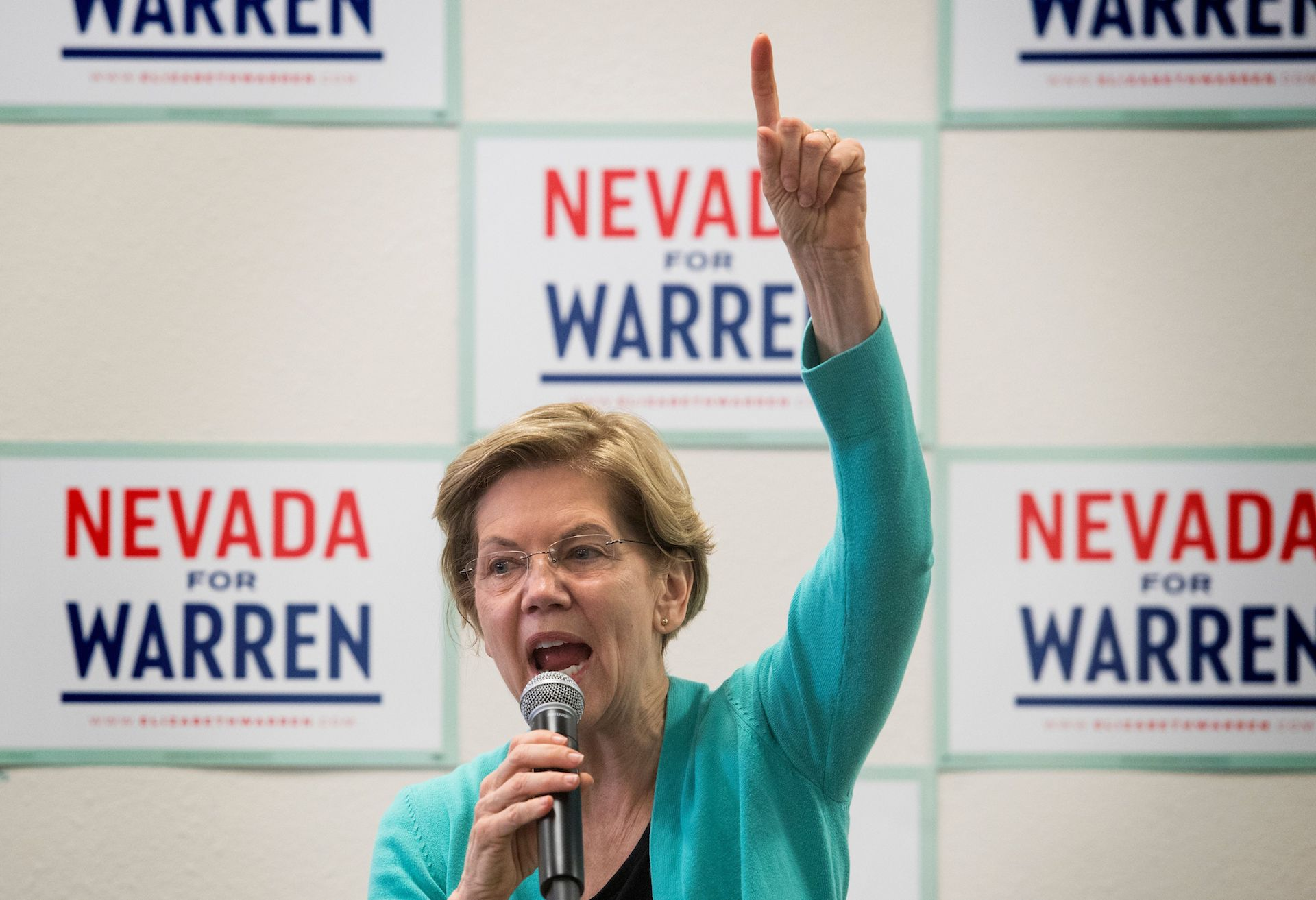 , Elizabeth Warren Is Finally Getting Ruthless. Is It Too Late?, Saubio Making Wealth