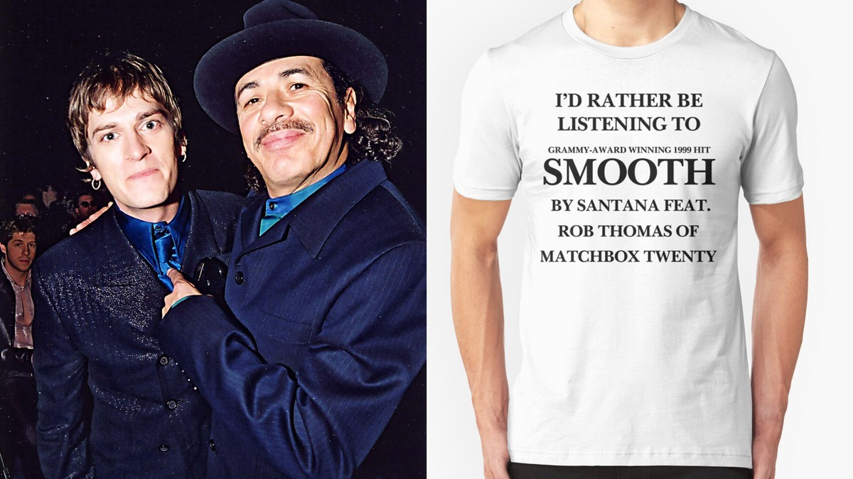 The Story of the T-Shirt That Captured Our Obsession with Santana's 'Smooth'