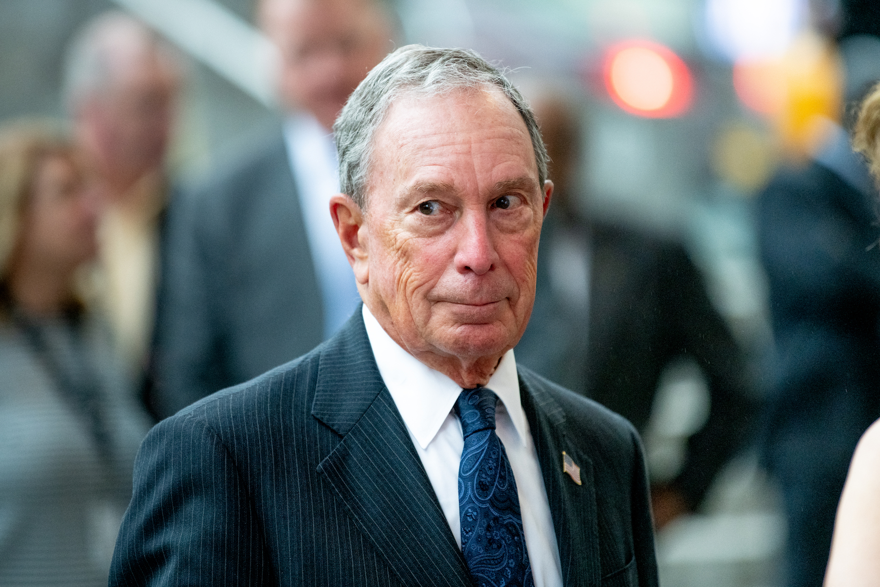 Bloomberg Caves to Elizabeth Warren and Says He