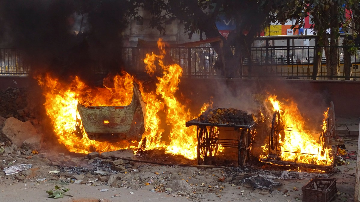 , New Delhi Is Burning as Modi Throws a Party for Trump's State Visit, Saubio Making Wealth