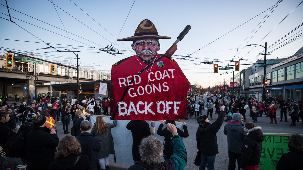 RCMP Pensions Are Invested in Controversial Gas Pipeline Owner