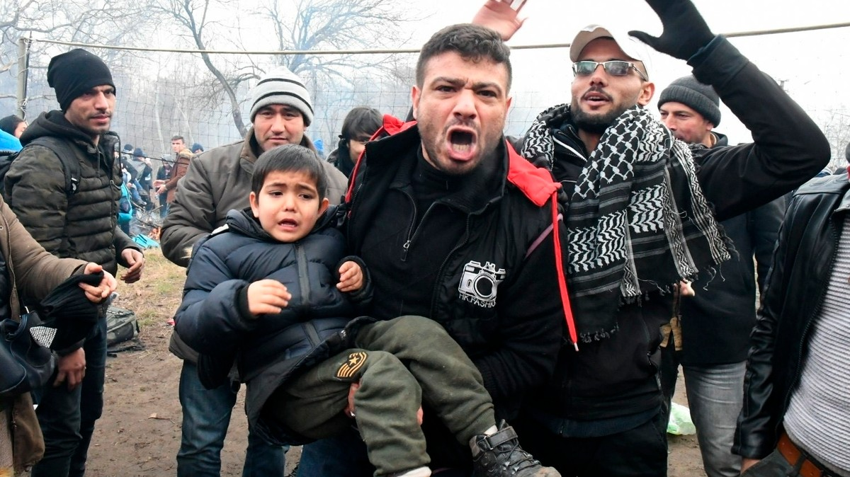 Thousands of Syrians Are Trying to Storm the Border Into Greece, and It's Getting Deadly