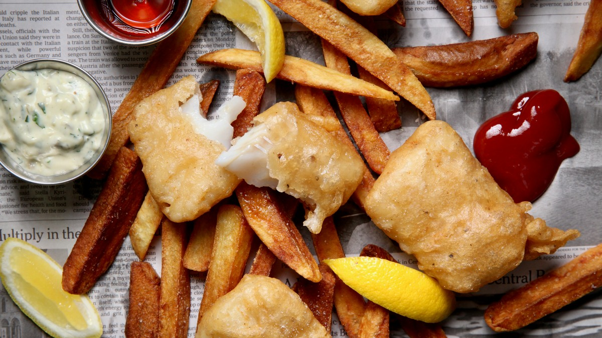 Easy Fish and Chips Recipe