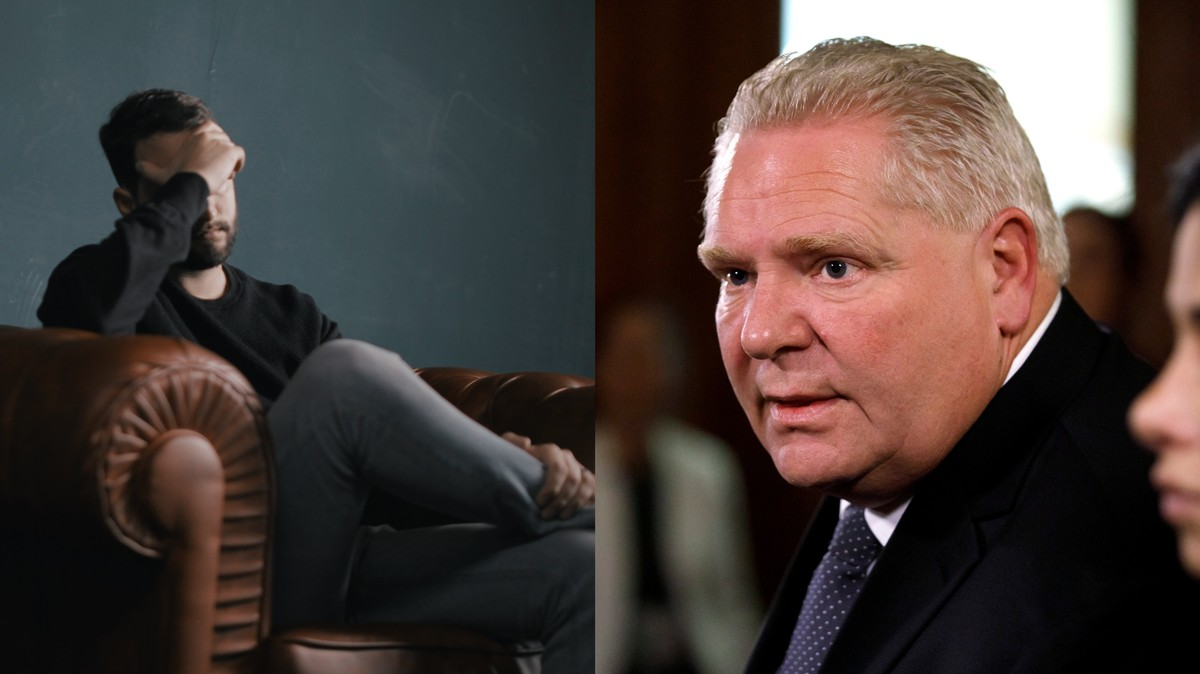 Ontario Announces Free Therapy for People With Anxiety or Depression