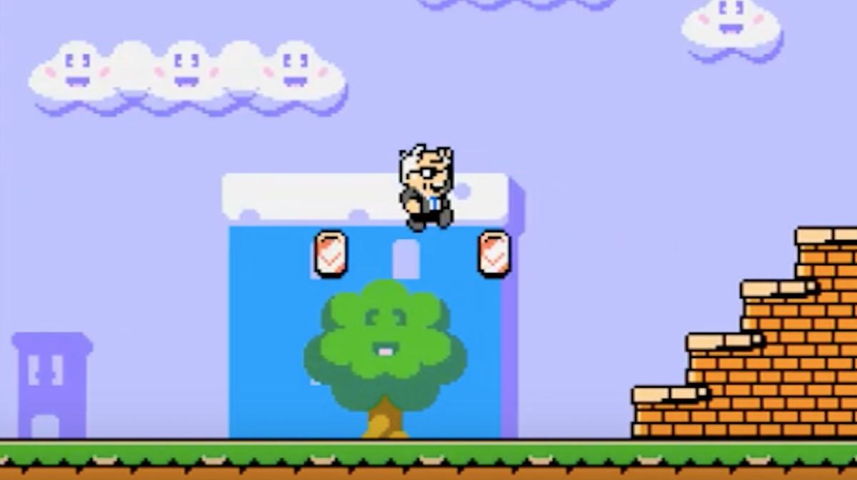 'Super Bernie World' Imagines a Presidential Campaign as 'Super Mario Bros.'