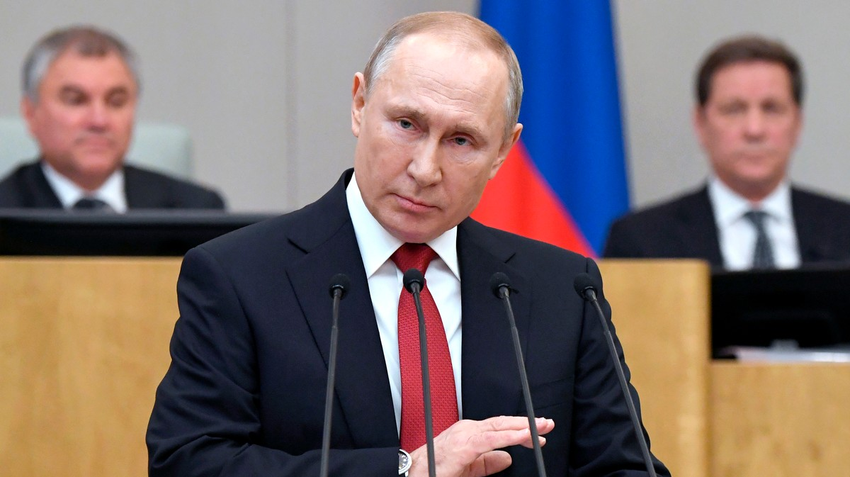 , Vladimir Putin Is One Step Closer to Being President For Life, Saubio Making Wealth