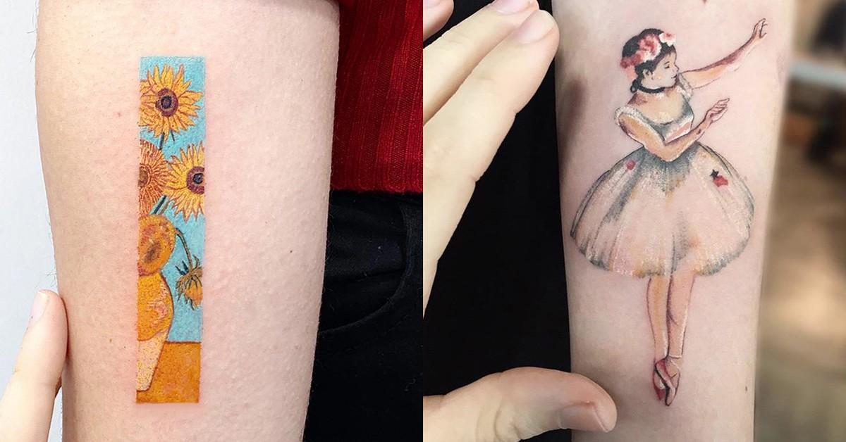 LaFragile trasforma in tatuaggi tutte le tue opere d'arte preferite