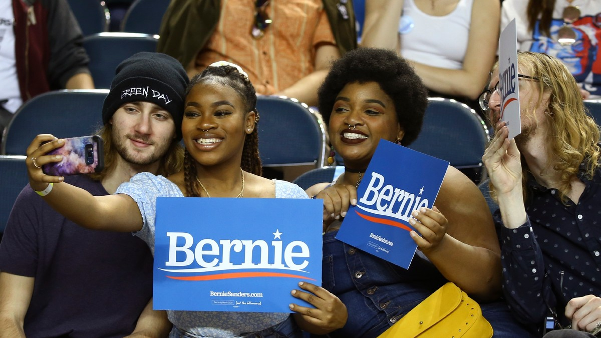 Young Voters Did Show Up for Bernie — But Alot of Gen Xers and Boomers Voted Too
