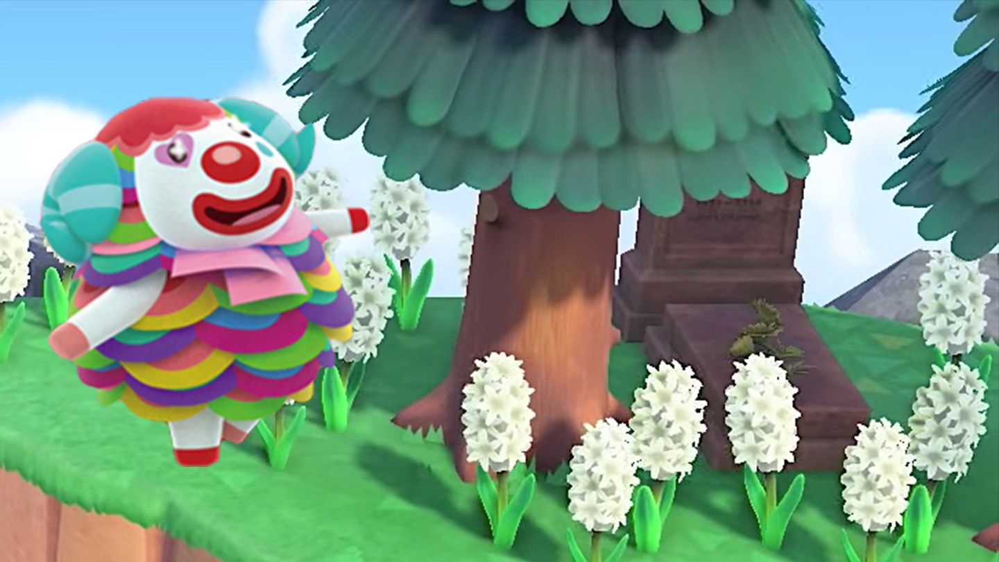 This Clown From Hell Is Animal Crossing New Horizons Most