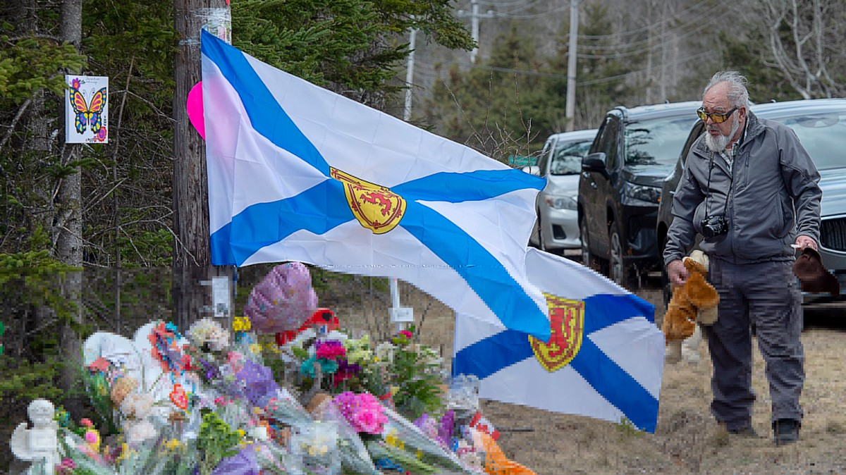 Nine of 22 Victims in Nova Scotia Shooting Were Killed in Fires Set by Gunman