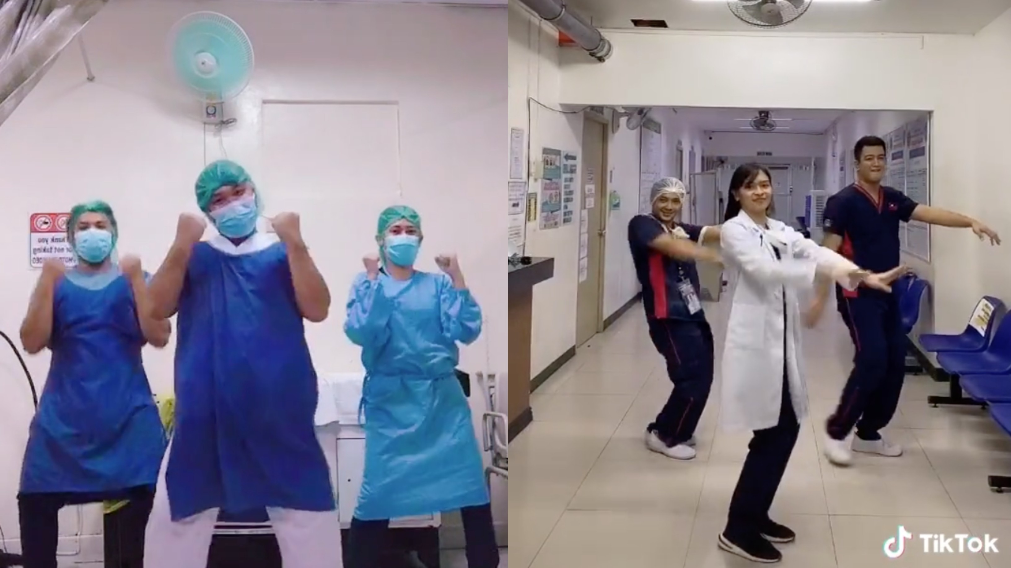These Healthcare Workers Turn To Tiktok For Some Comic Relief