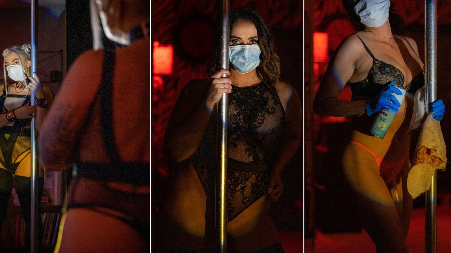 Na sluitingstijd stoeien in stripclub