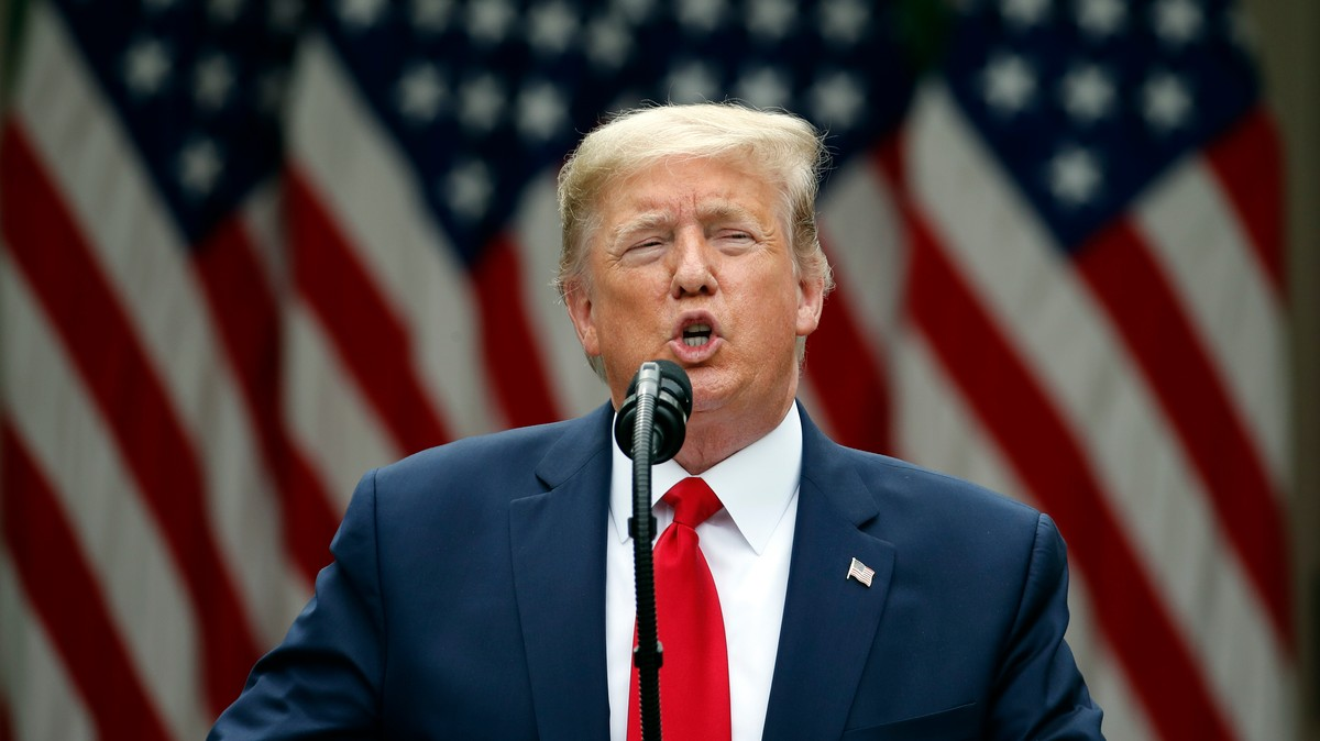 , Trump Just Ended the U.S. Relationship With WHO — and Didn't Take Any Questions About It, Saubio Making Wealth