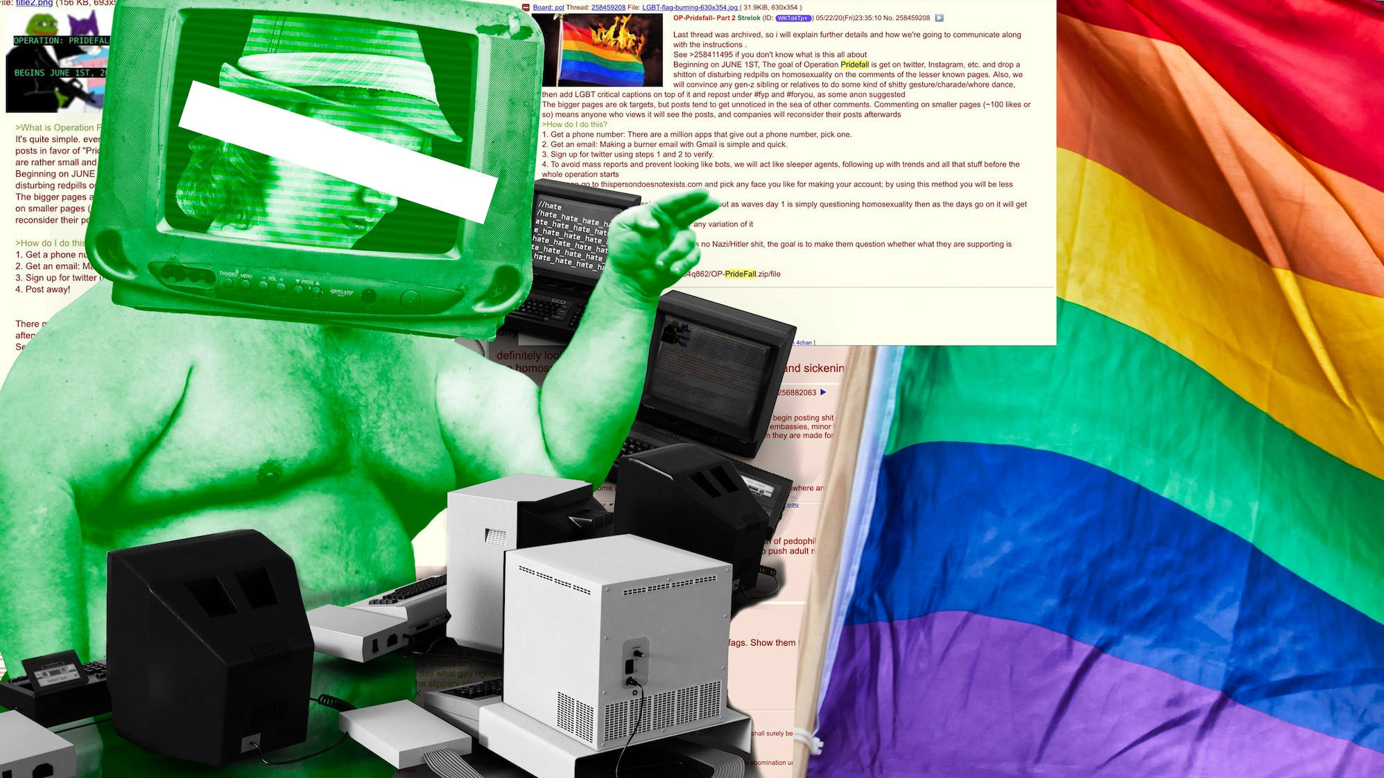 What Is Operation Pridefall 4chan S Anti Gay Pride 2020 Troll