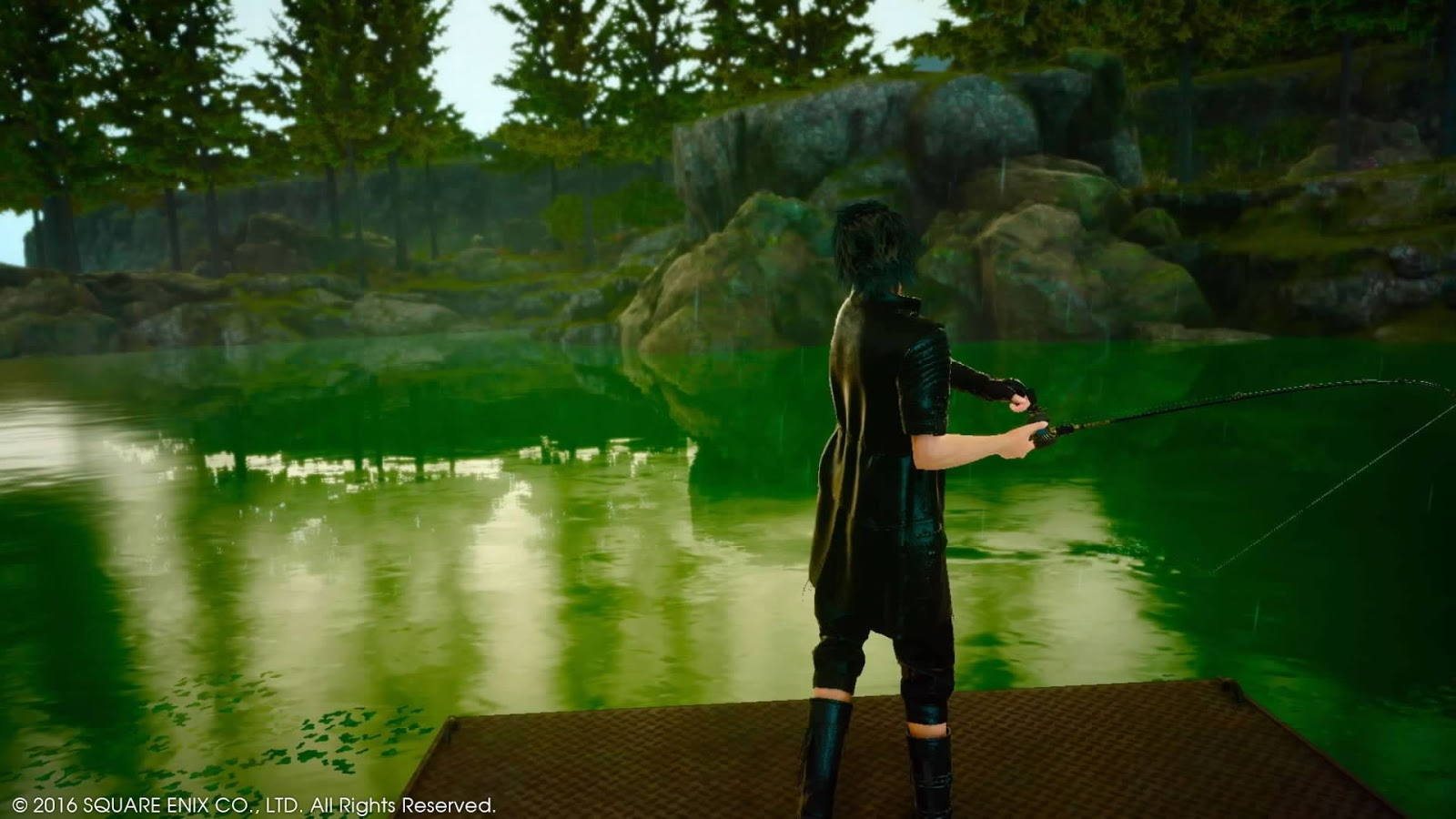 A photographic look back at 32 hours with 39 final fantasy for Ffxv fishing rods