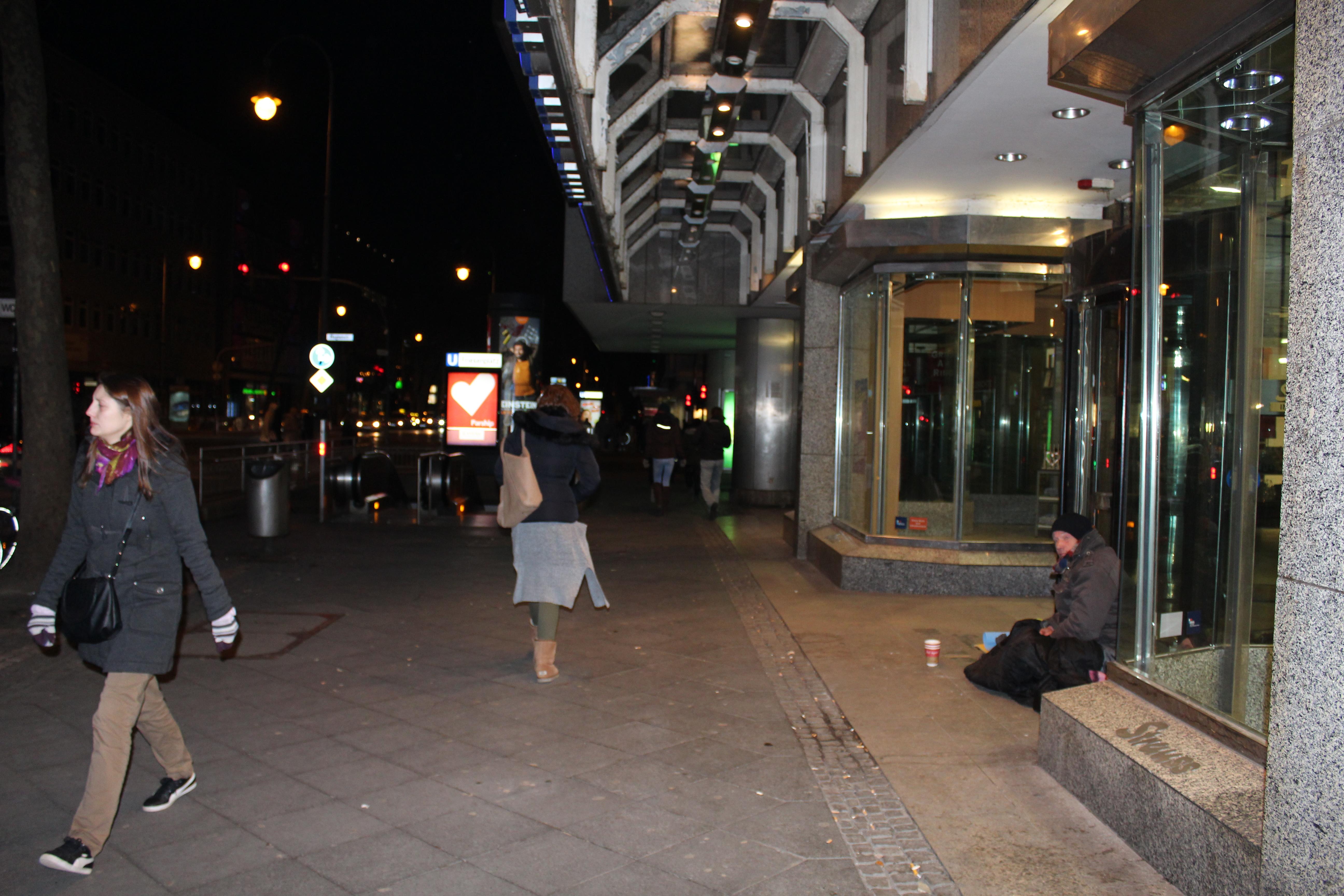 Ein obdachloser hat uns erz hlt warum er noch nicht - Bilder von molligen frauen ...