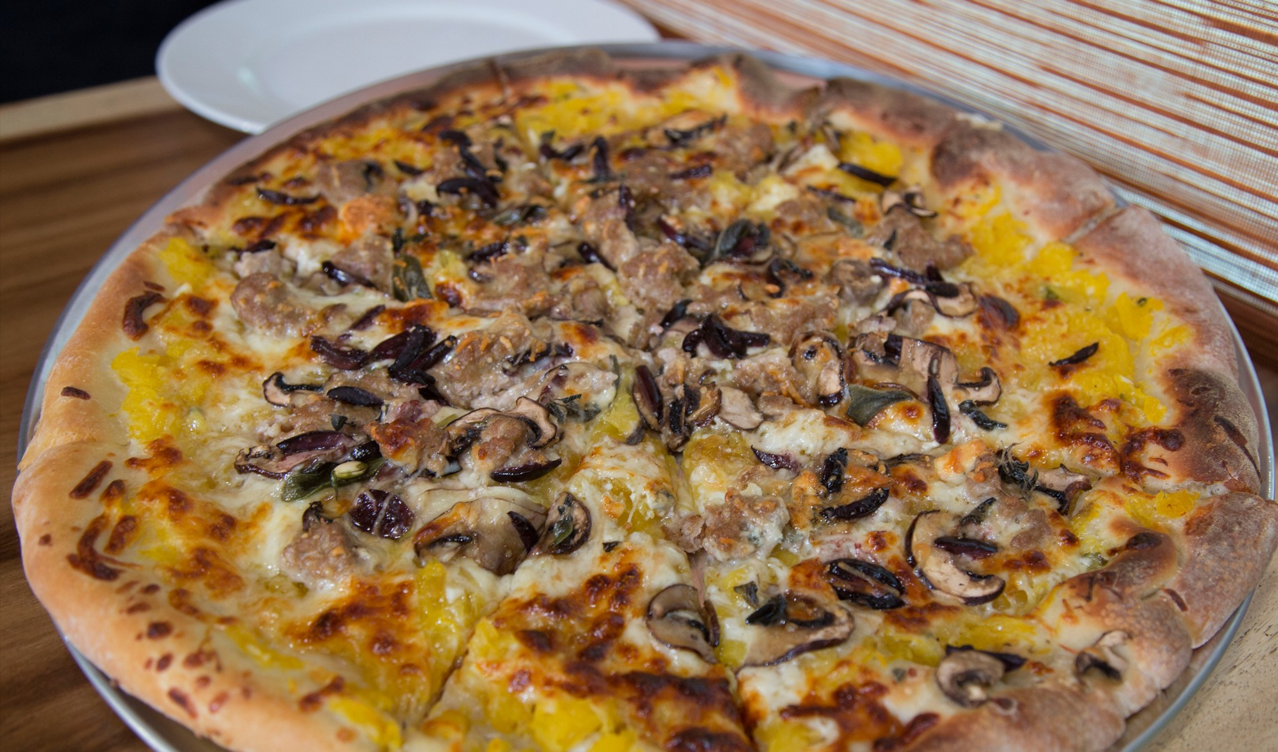Make Pumpkin Pizza with Thom Beers