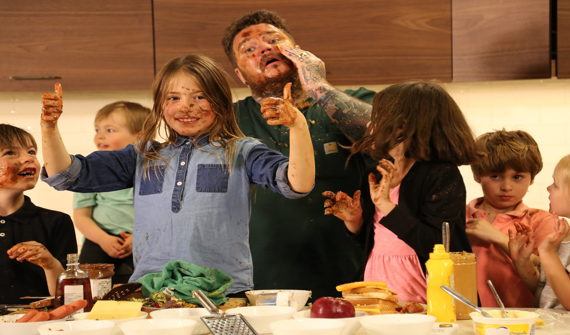 Make Grilled Cheese with Matty Matheson and Kids
