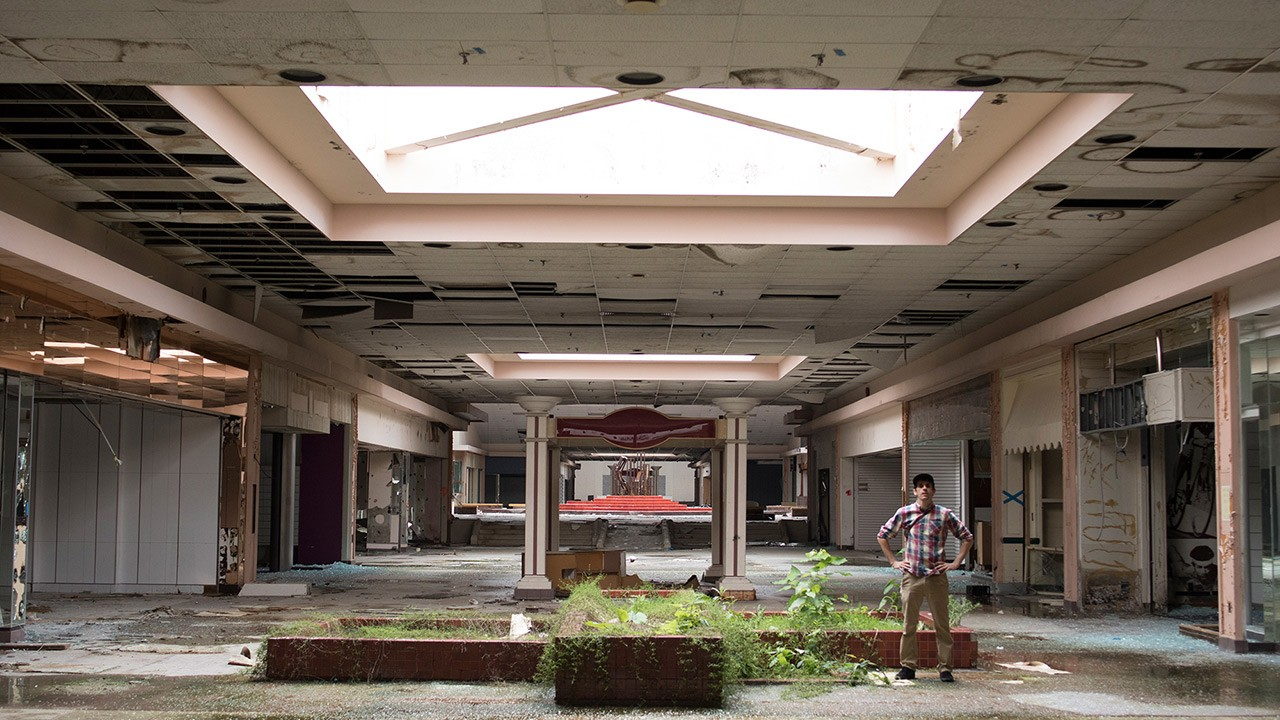Ghost Mall Abandoned Viceland