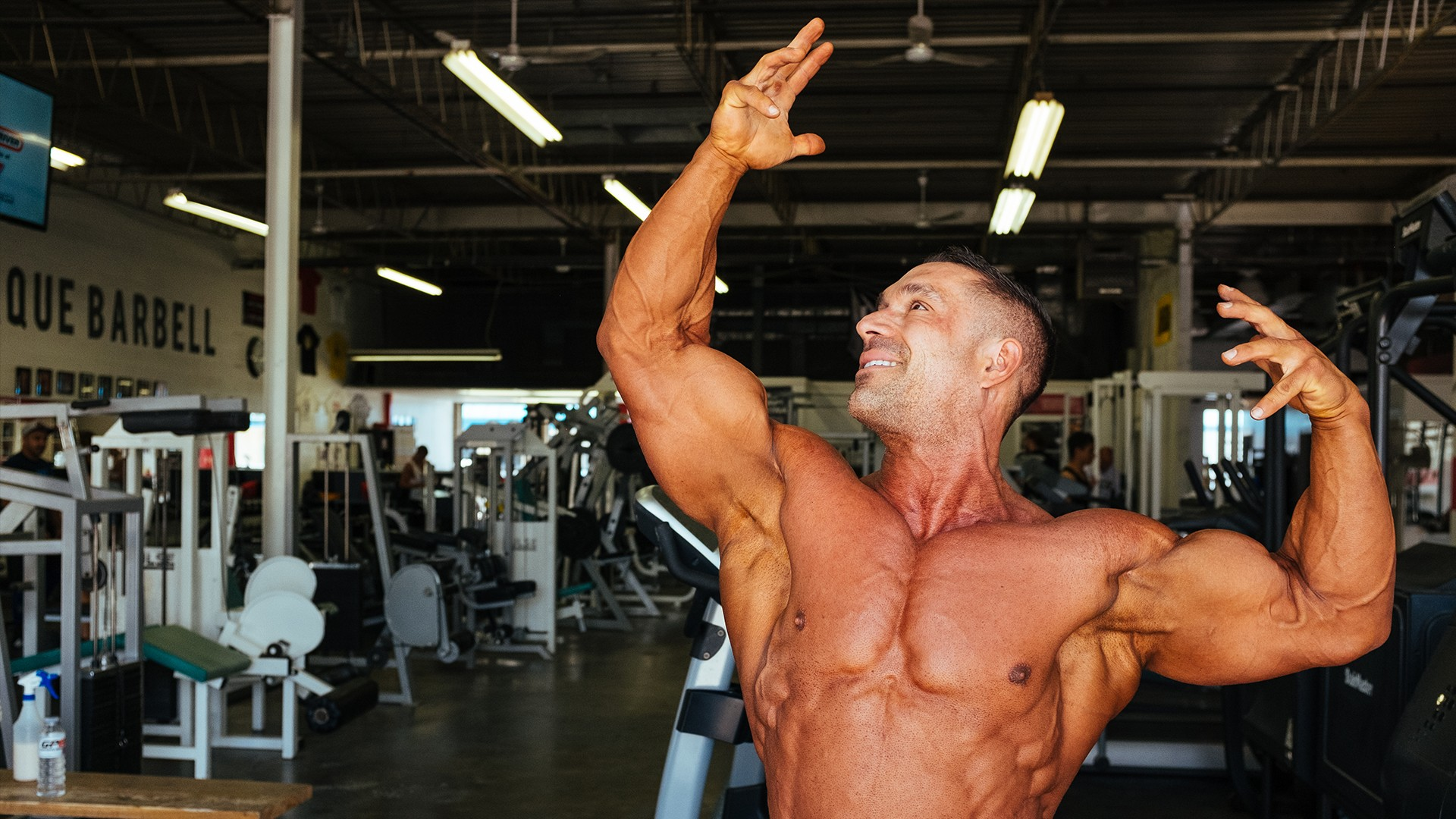 The 40-Year-Old Bodybuilder