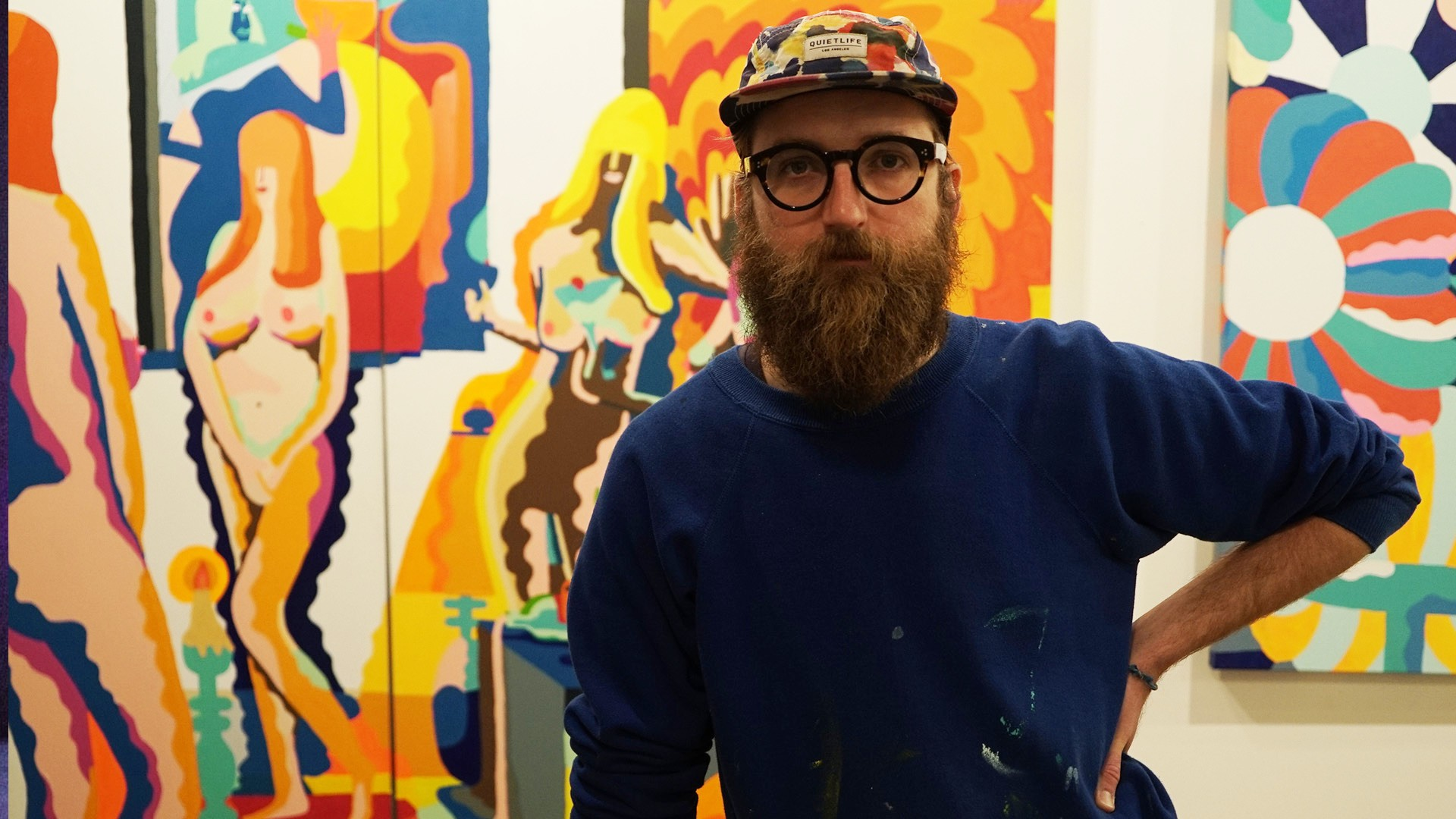 Inside the Boundless Cartoon Universe of Mike Perry