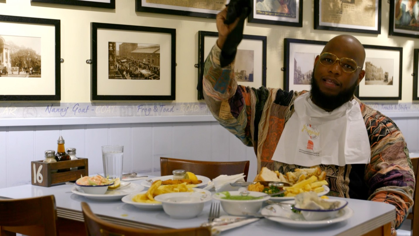Eating for England with Meyhem Lauren (Extra Scene)