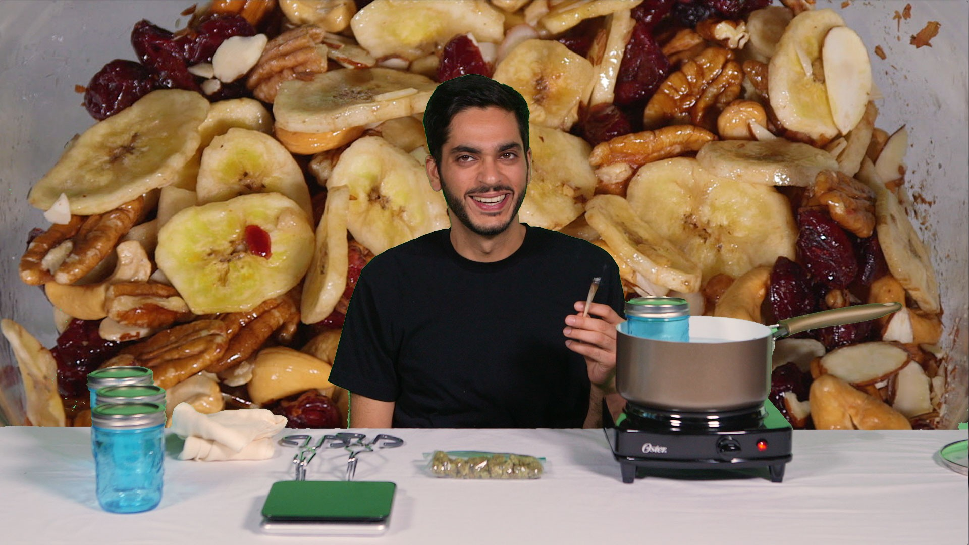 How to Make Weed-Infused Trail Mix