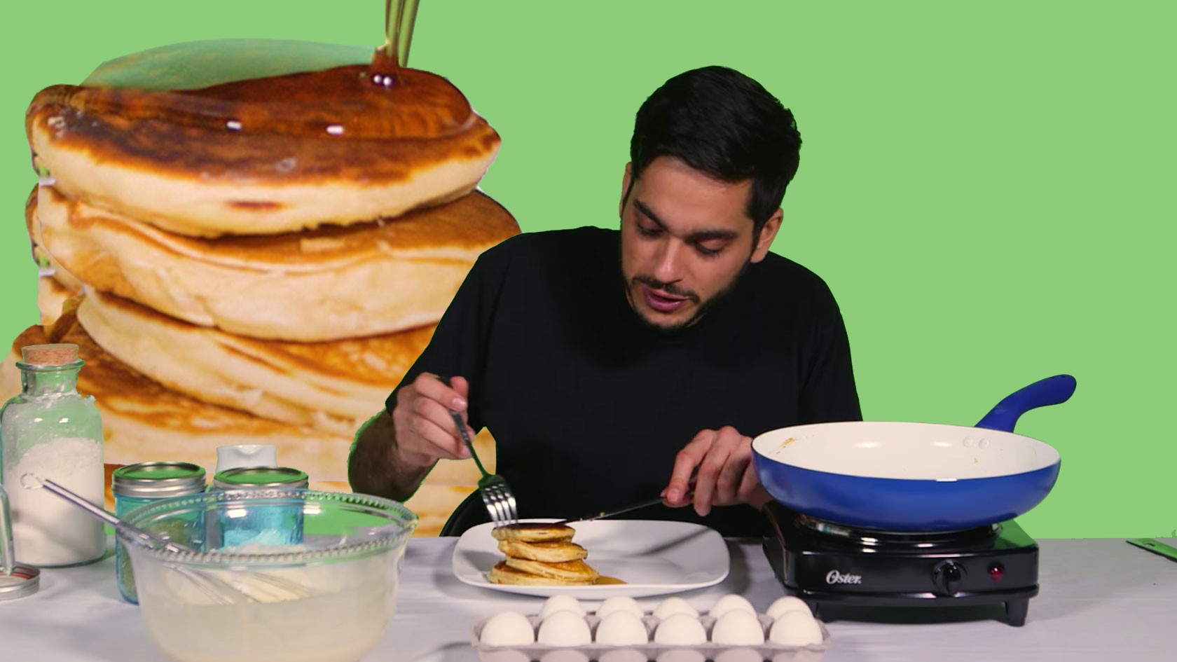 How to Make Pot Pancakes with Weed Butter