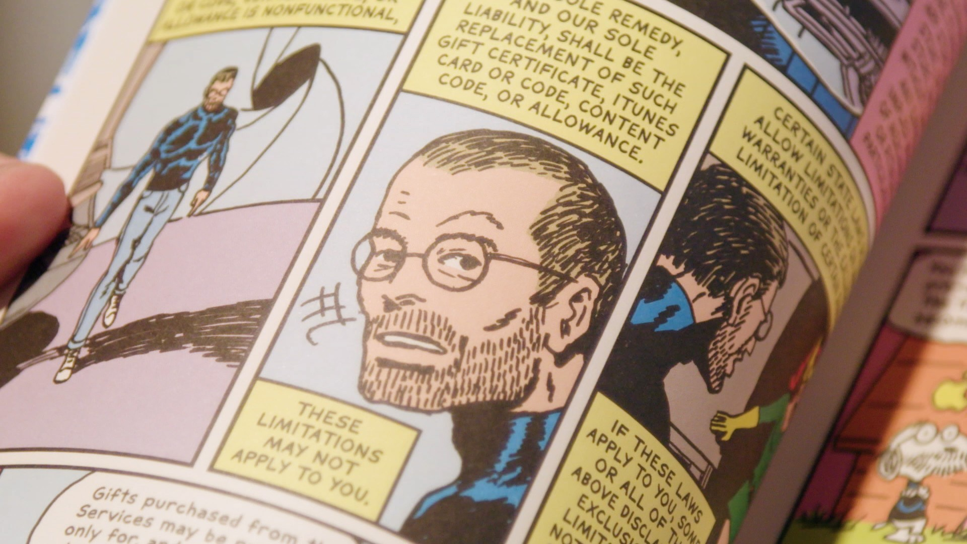 This Artist Turned iTunes's Terms and Conditions into a Graphic Novel
