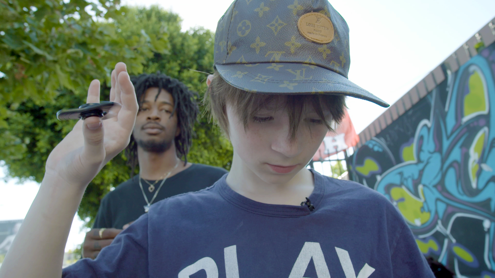 Matt Ox Is the 12-Year-Old Fidget-Spinning Rapper About to Blow
