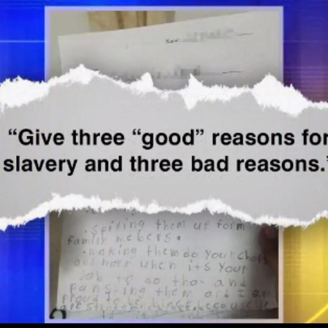 reasons slavery