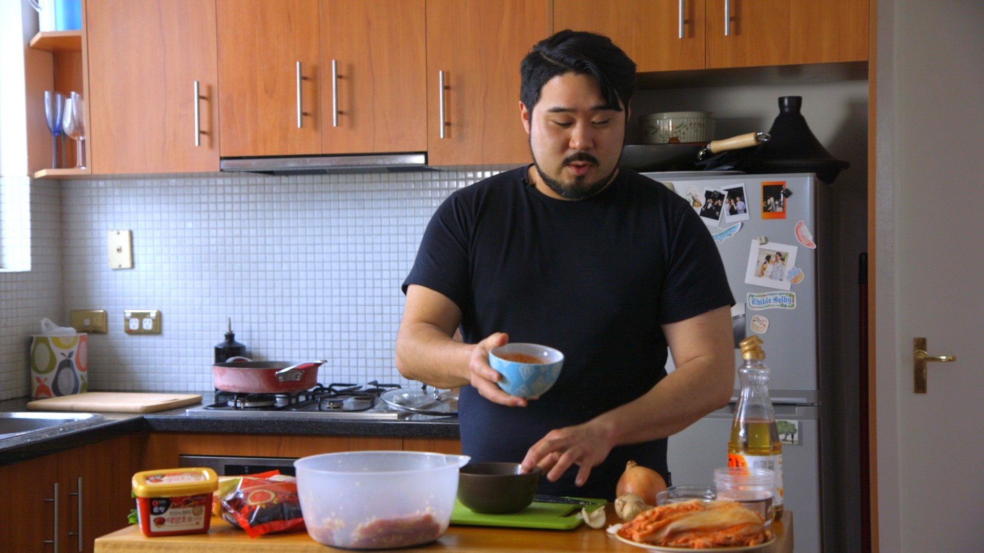 Braised Pork with Kimchi Pete