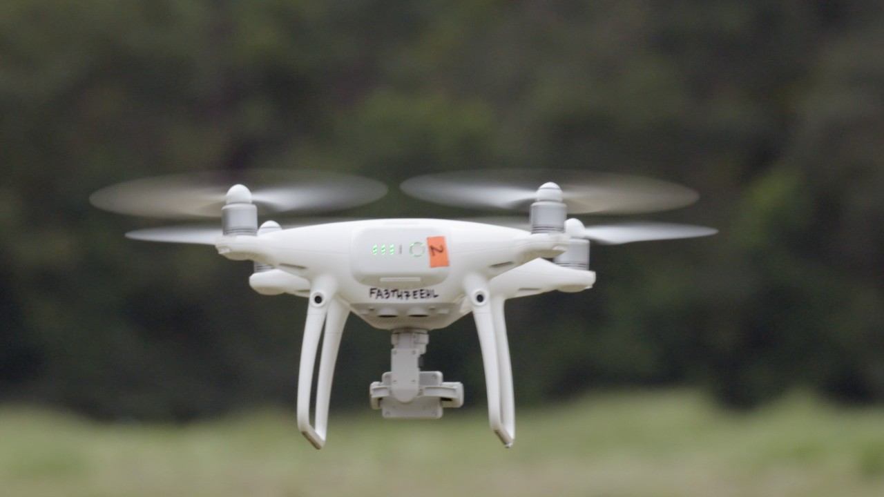 What happens when a prison is attacked by drug-smuggling drones