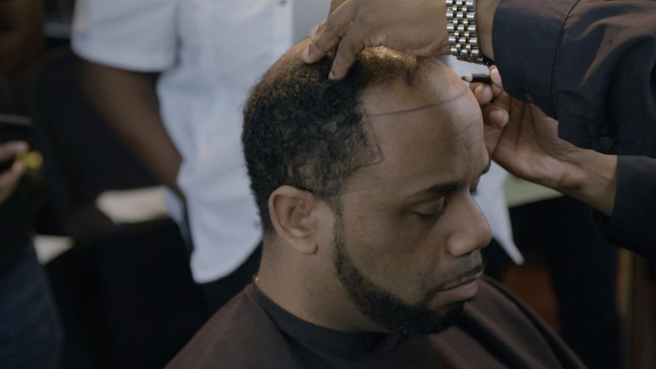 Inside the thriving business of fake hair for black men