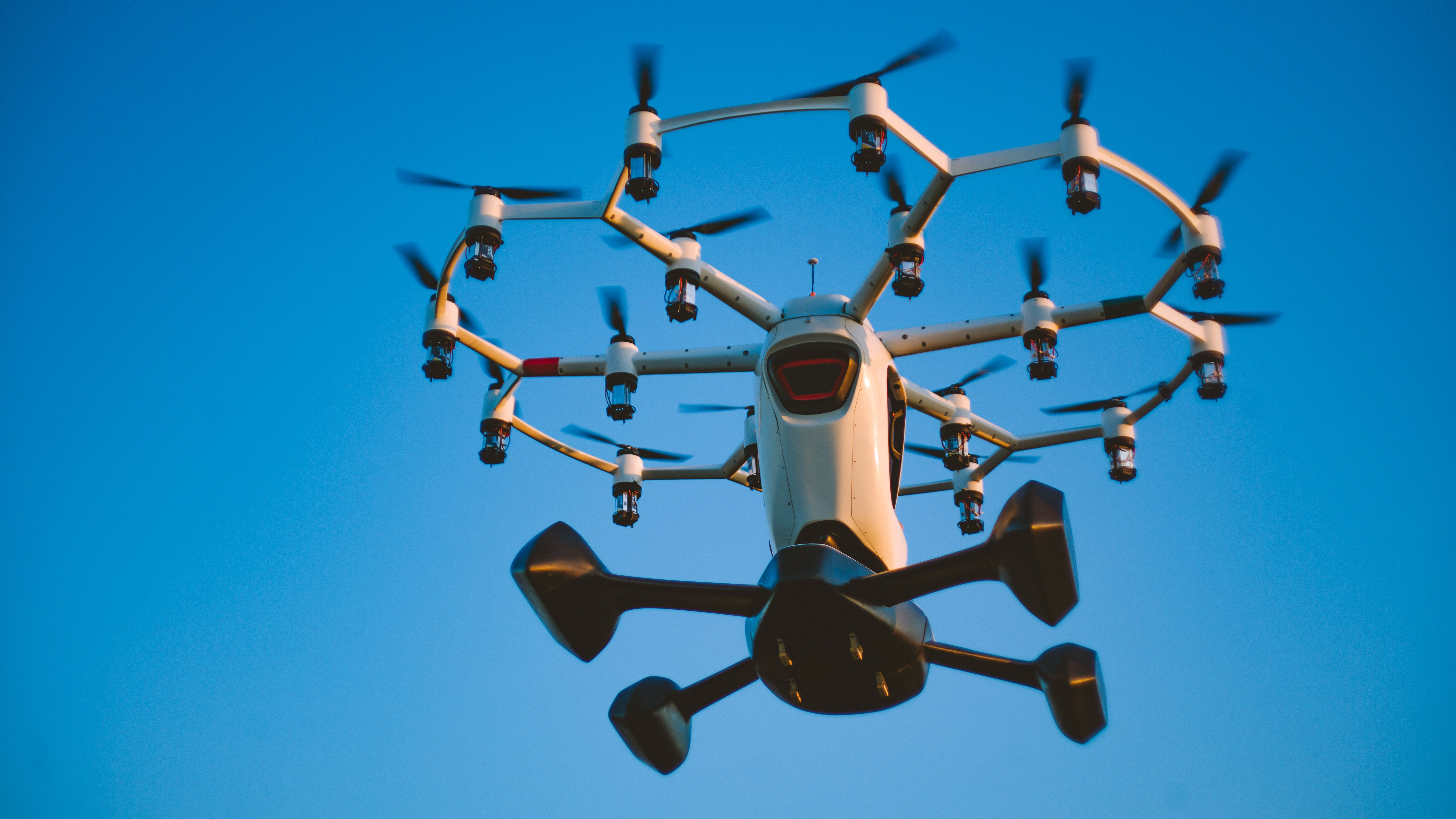 Why Personal Flying Machines are the Future of Commuting