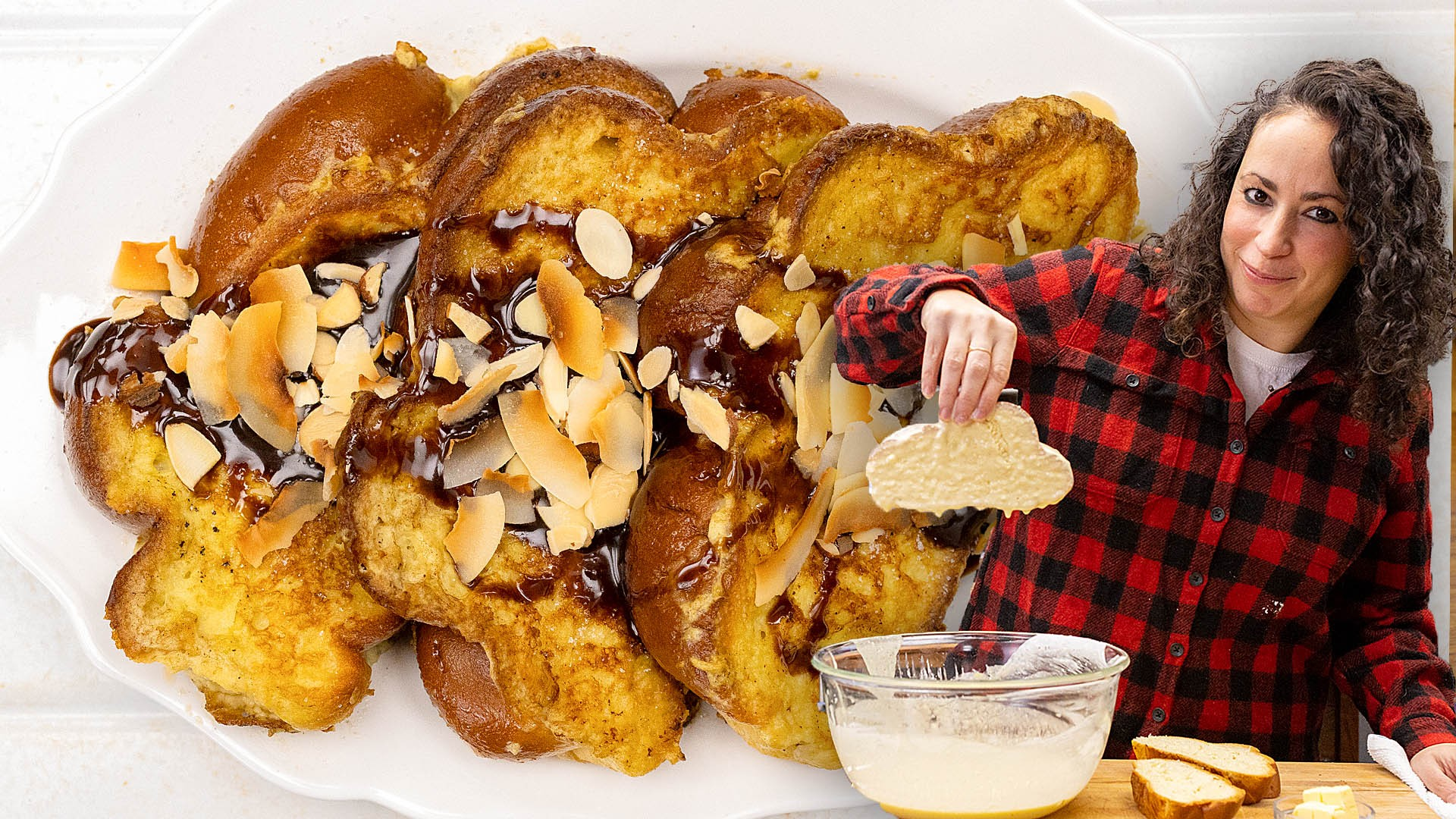 Coconut French Toast with Farideh