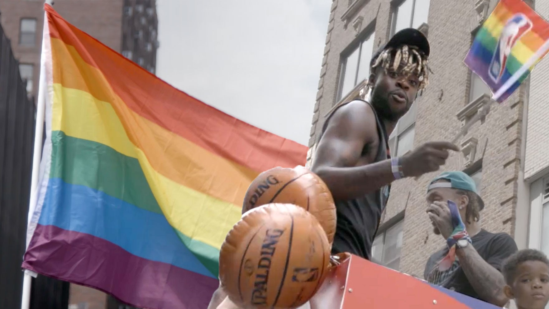 The NBA Player Fighting for LGBT Equality